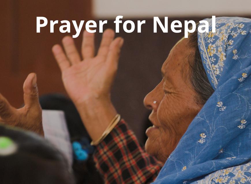 Prayer for Nepal